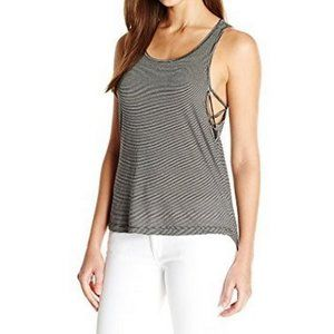 NWT Harper Tank with Side Detail, Black